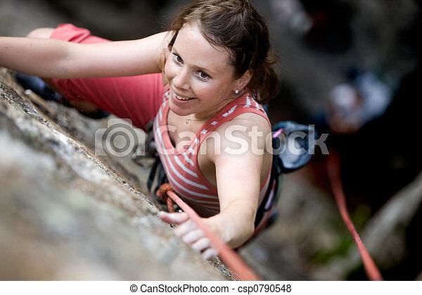 arrampicatore, femmina - csp0790548