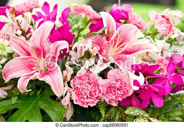 Arrangement floral. - csp26060591