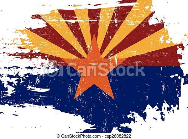 arranhado, bandeira, arizona - csp26082822