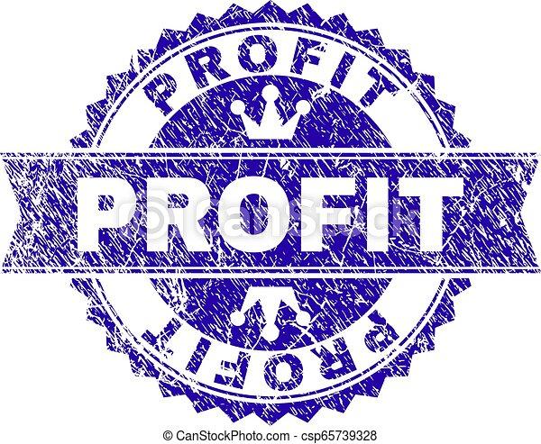 arranhado, lucro, textured, selo, selo, fita - csp65739328
