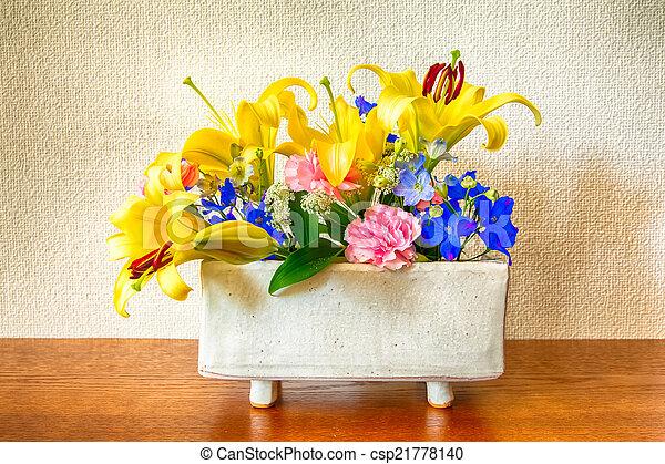 arranjo flor - csp21778140