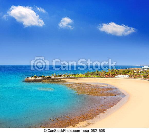 Arrecife Lanzarote Playa del Reducto beach - csp10821508