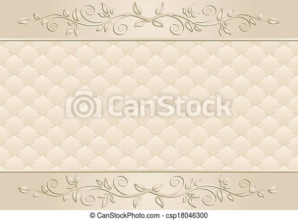 arrière-plan beige - csp18046300