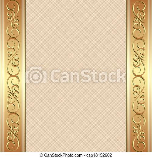 arrière-plan beige - csp18152602