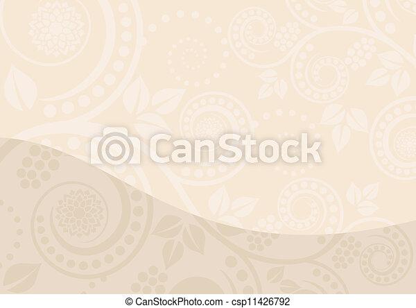 arrière-plan beige - csp11426792