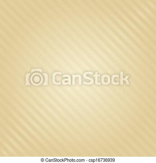 arrière-plan beige, raies - csp16736939