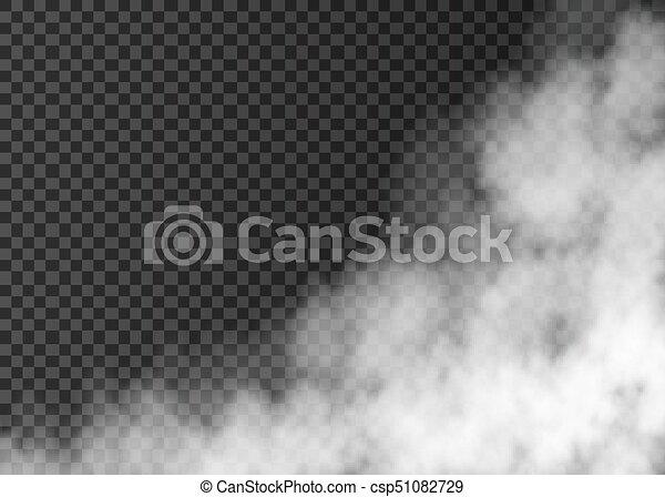 arrière-plan., blanc, isolé, fumée, transparent - csp51082729