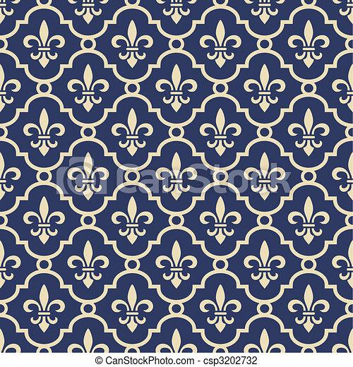 arrière-plan bleu, royal - csp3202732