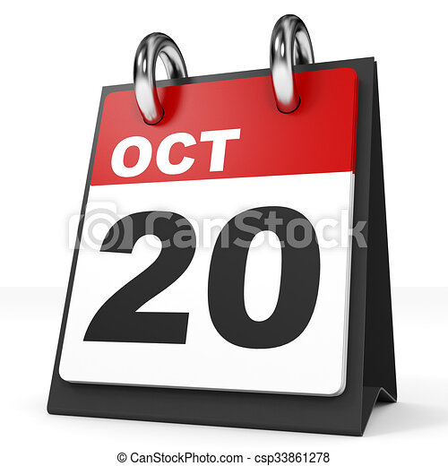 Calendrier 20.Arriere Plan October Blanc 20 Calendrier