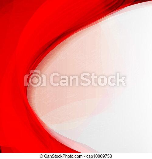 arrière-plan., résumé, rouges - csp10069753