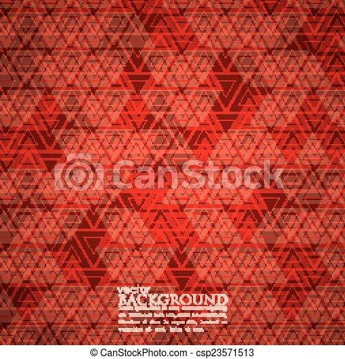 arrière-plan rouge, résumé - csp23571513