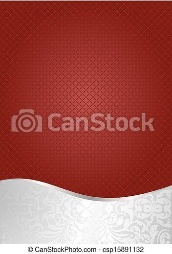 arrière-plan rouge - csp15891132