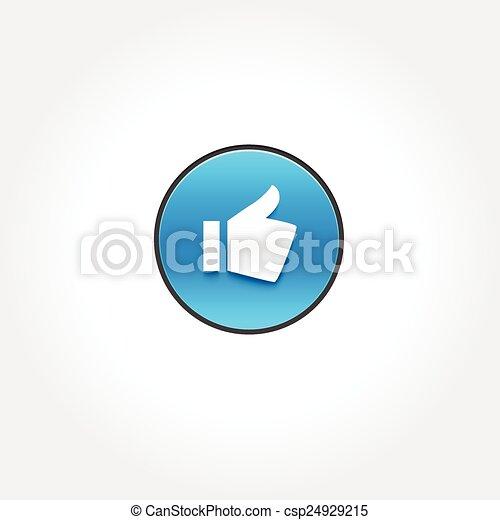 Pulgares arriba - csp24929215