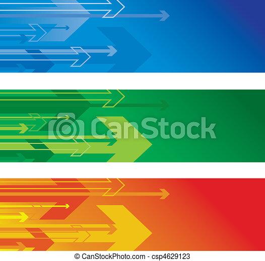 arrow banners - csp4629123
