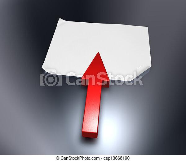 arrow - csp13668190