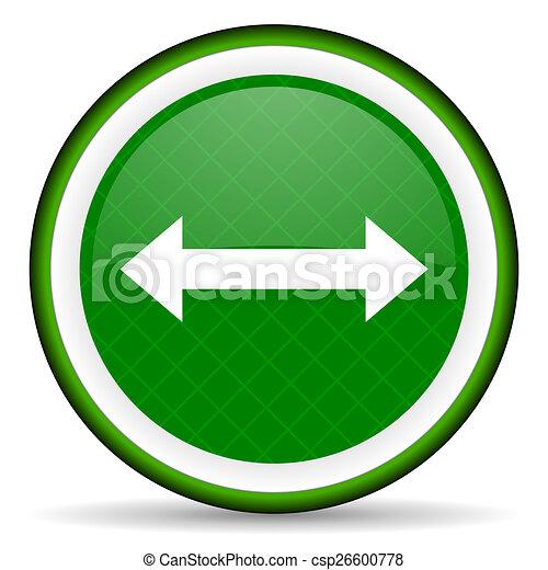 arrow green icon - csp26600778