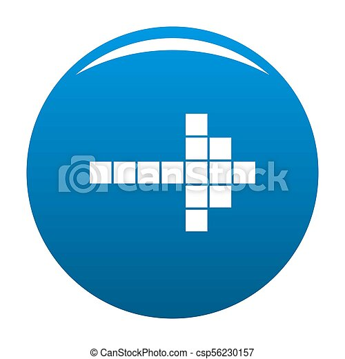 Arrow icon blue - csp56230157