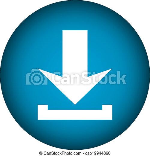 Arrow icon download - csp19944860