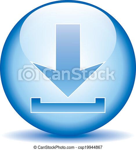 Arrow icon download - csp19944867