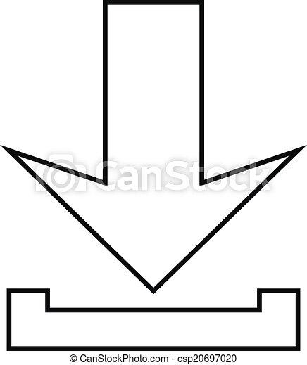 Arrow icon download - csp20697020