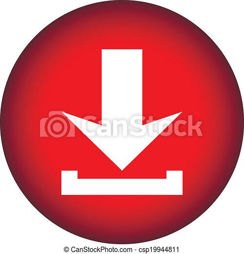 Arrow icon download - csp19944811
