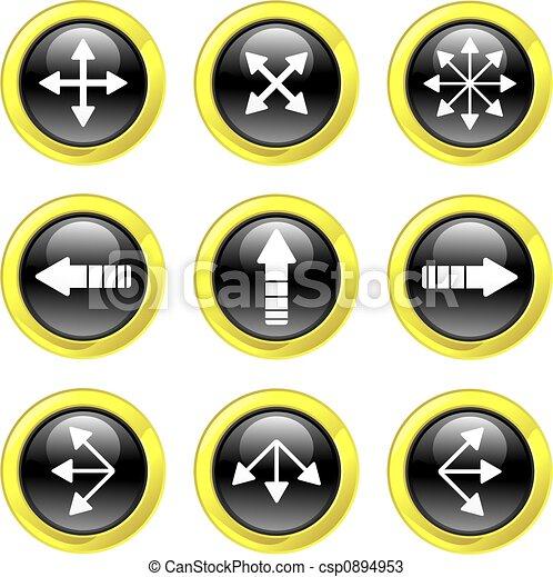 arrow icons - csp0894953