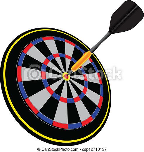Arrow in the target - csp12710137