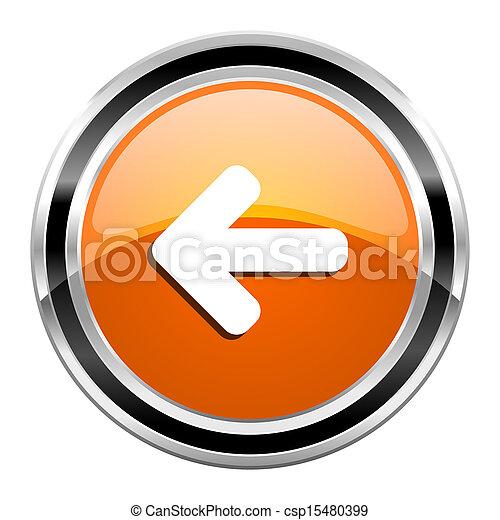 arrow left icon - csp15480399