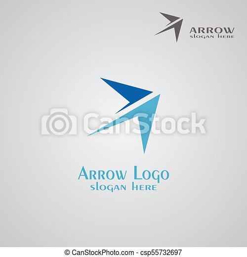 arrow logo design logo business vector illustrations