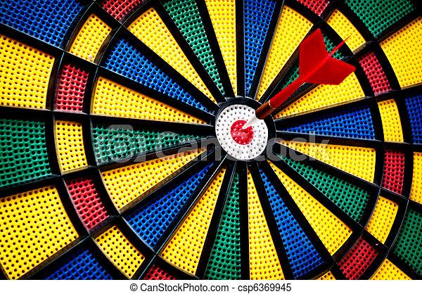 Arrow on the target - csp6369945