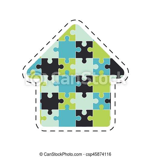 arrow puzzle solution image - csp45874116