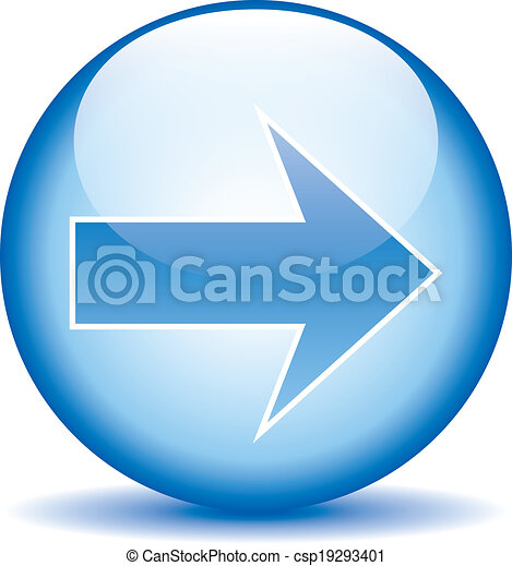 Arrow sign button - csp19293401