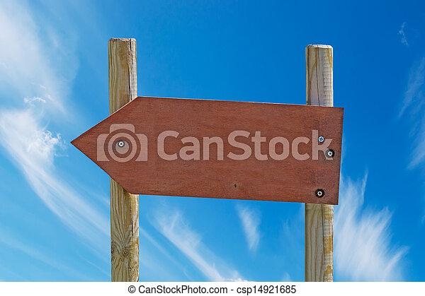arrow sign - csp14921685