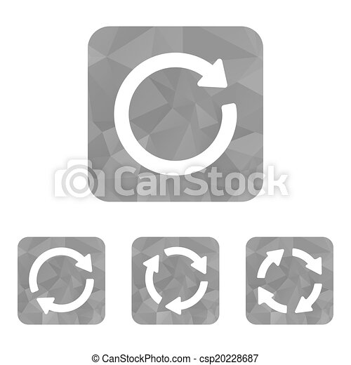 arrow sign reload refresh rotation - csp20228687