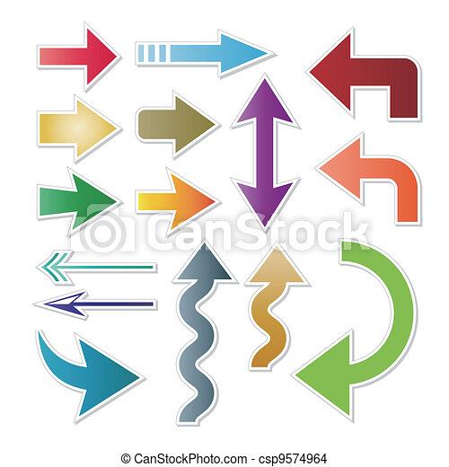arrow symbol - csp9574964