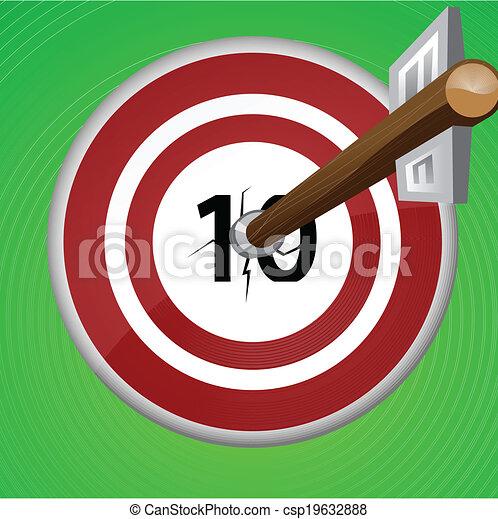 Arrow target - csp19632888