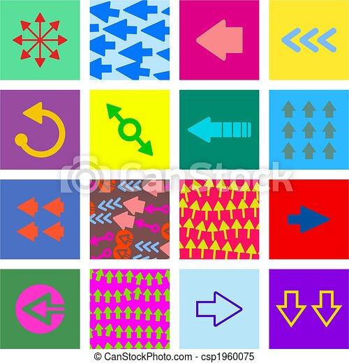 arrow tiles - csp1960075