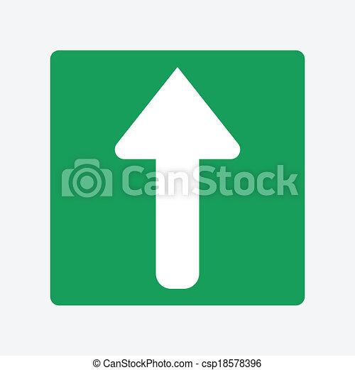 Arrow up - csp18578396