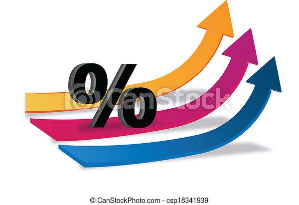 arrows business finance logo arrows business finance vector rh canstockphoto ca financial clip art free finance clip art free