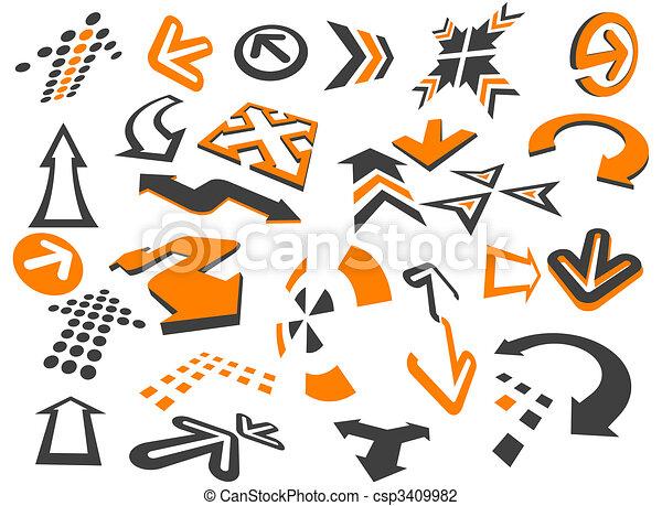 Arrows - csp3409982