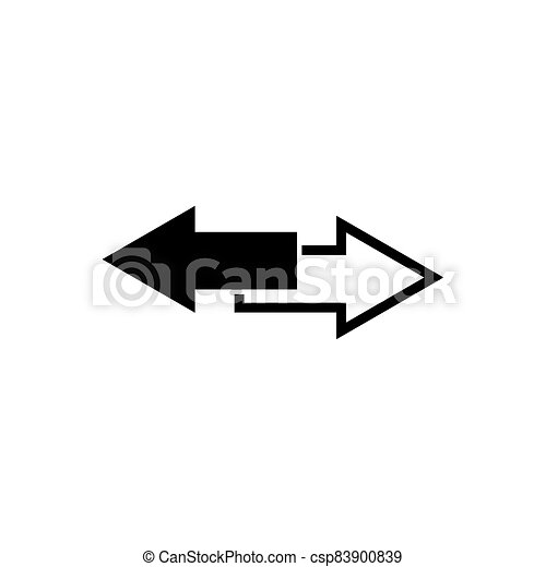 Arrows download outline icon isolated. Symbol, logo illustration for mobile concept and web design. - csp83900839