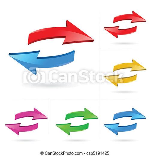 Arrows set - csp5191425
