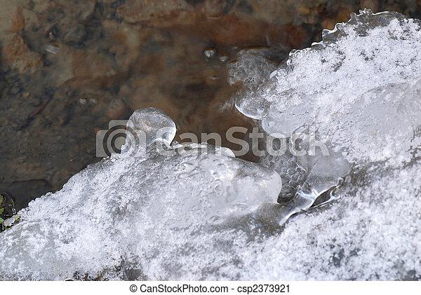 Ice brook - csp2373921