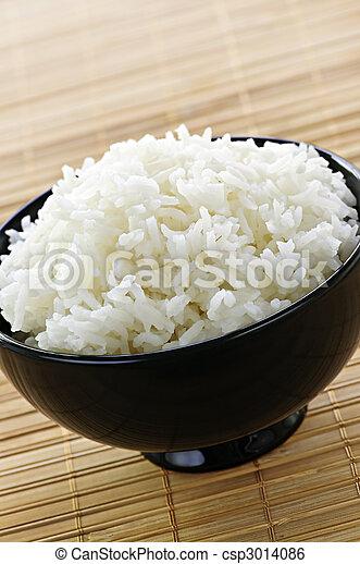 arroz, tigela - csp3014086