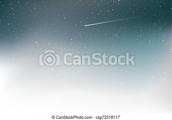 art, étoile filante, fond, gentil - csp72318117