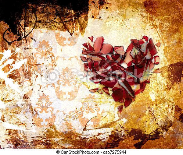 art Abstraction ornament - csp7275944