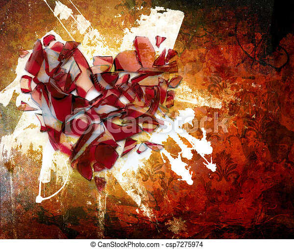 art Abstraction ornament - csp7275974