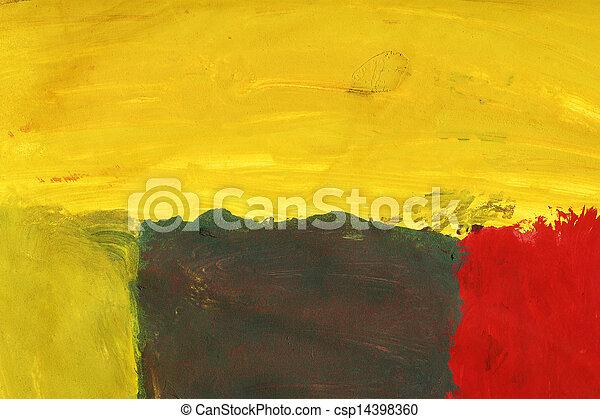 art abstrait, fond - csp14398360