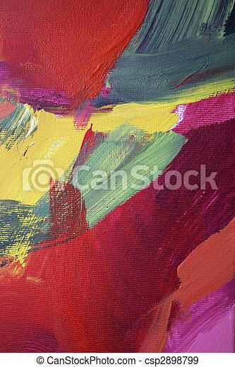 art abstrait - csp2898799