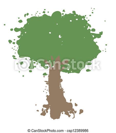 art, arbre - csp12389986